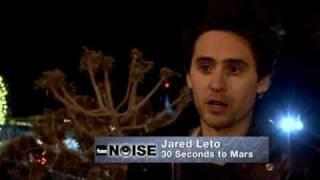 Interview: 30 Seconds To Mars - Filming the music video of