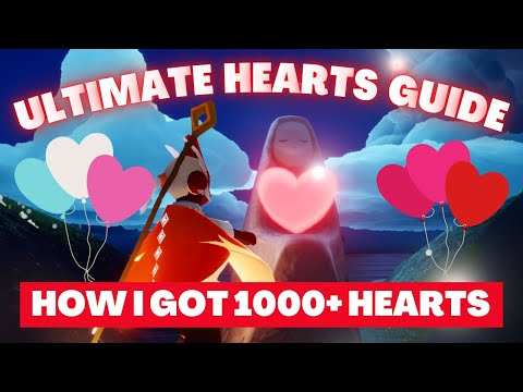 How To Get Hearts In Sky: Children Of The Light (The Ultimate Hearts Guide) | NOOB SERIES