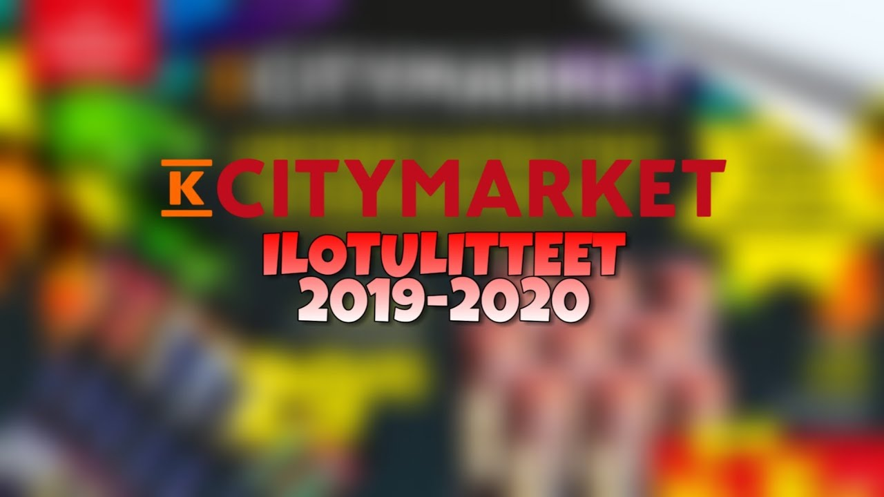 Citymarket Ilotulitteet