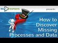How to Discover Missing Processes and Data on a Data Flow Diagram