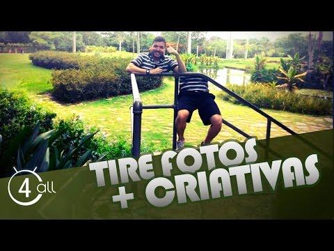 Como tirar fotos criativas pelo celular e fazer montagem de fotos que irão impressionar