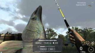 Fishing Planet. Миссури. Трофейная Аллигаторова Щука