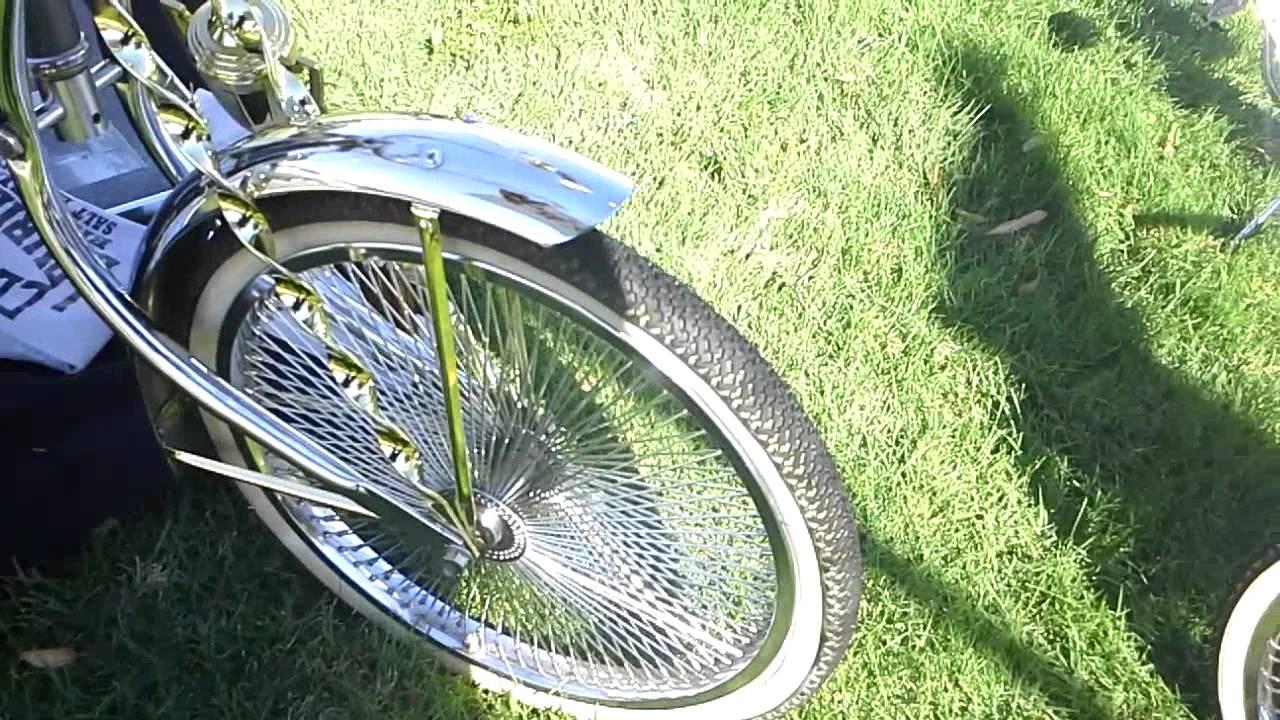 Lowriders bikes with speakers