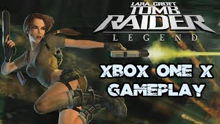 Tomb Raider Legend Xbox One X Gameplay (Upscaled 4K)