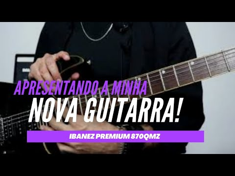 Guitarra NOVA!!! A guitarra que me SURPREENDEU!!😱