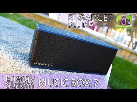 Energy Sistem Energy Music Box 7 A Bluetooth Speaker with 20W of Power