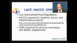 U.S. FDA EXPORT REGULATIONS - Part 4: Food Labeling Requirements & Voluntary Organizations