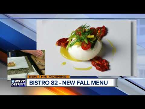 Bistro 82 Rolls Out New Fall Menu