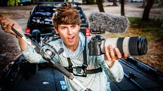 How I Film My YouTube Videos! (Secrets REVEALED)