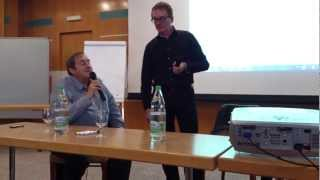 Freddie Mercury Memorial Day 2012 Montreux (part 2) - Conference with Mike Moran