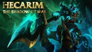 Hecarim: Ch ion Spotlight Gameplay League of Legends