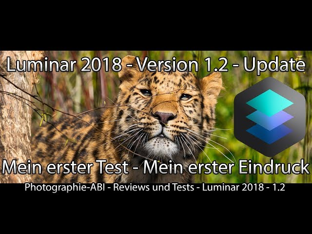 Skylum - Luminar 2018 1.2 - Die Neuerungen im Detail - Update - Bildentwicklung