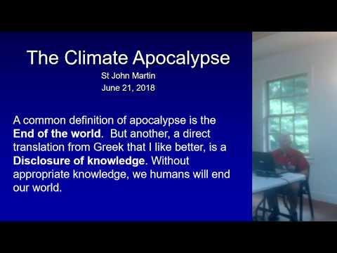 The Climate Apocalypse