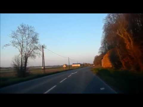 Driving in Brittany (Bretagne) - France (2)