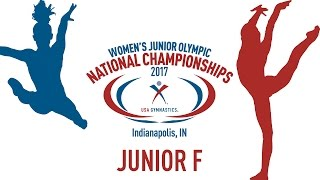 2017 Women's Junior Olympic National Championships - Junior F