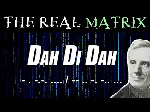 The Real Matrix - Decoding Morse Code Using An RTL SDR Receiver