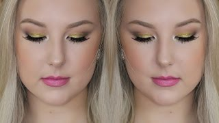 Colour Pop Telepathy Eyeshadow & Pink Lips GRWM