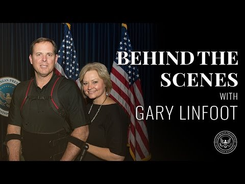 Behind-the-Scenes @ The Reagan Library: Gary Linfoot – 03/02/17