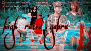nawabzaade:high rated gabru // cover video//guru randhawa //swagar Amit //fab boy Govinda //