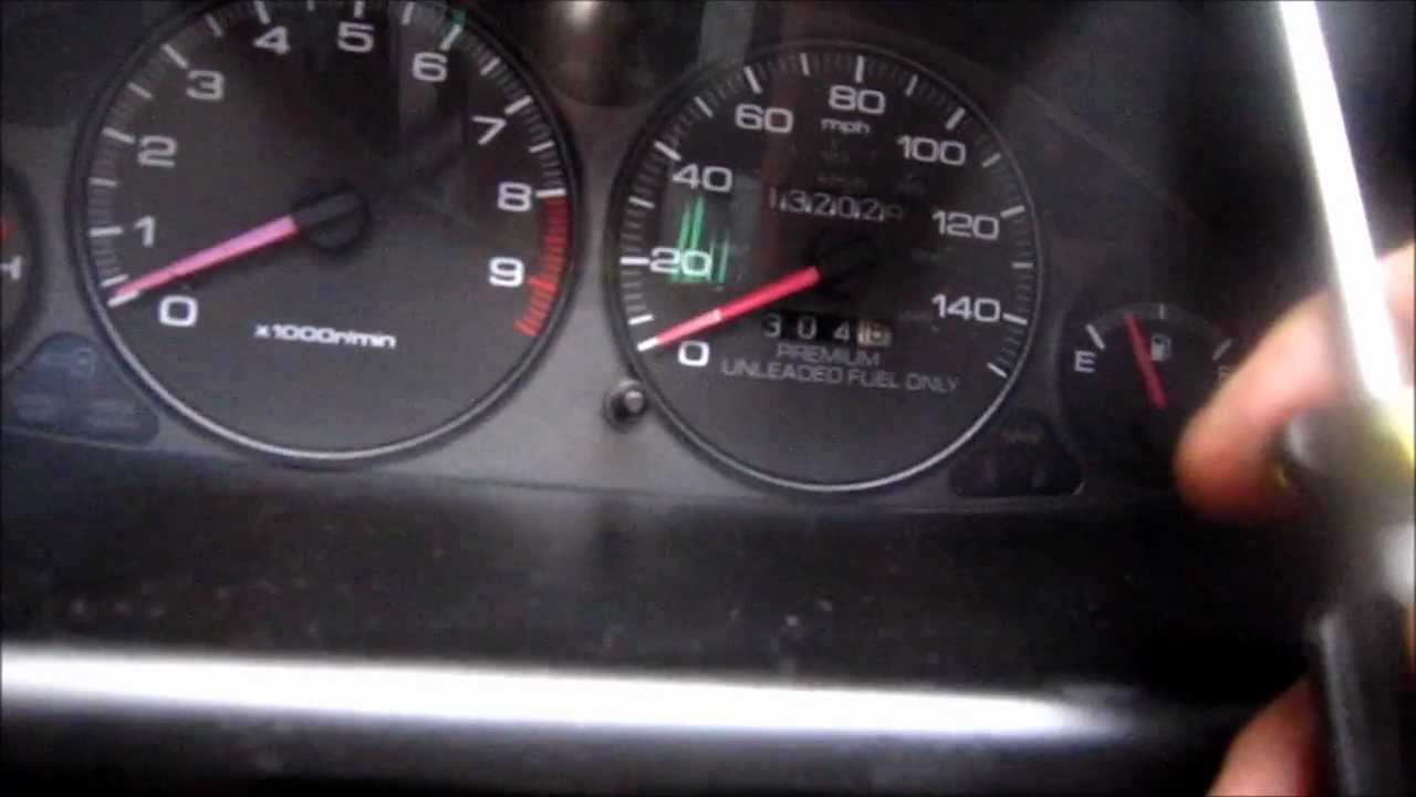 how to remove acura integra instrument cluster speedometer [ 1280 x 720 Pixel ]