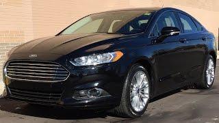 2016 ford fusion se awd leather heated seats sunroof backup camera alloy wheels