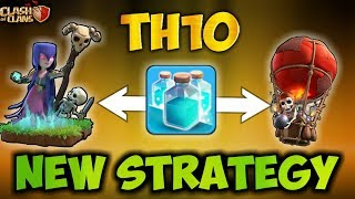 Th10 New CLONE SPELL STRATEGY | After New Update 2018 | Clash Of Clans