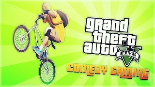 GTA 5 - Bike Glitch - Fighting The Hood - Ghost Stories - Comedy Gaming