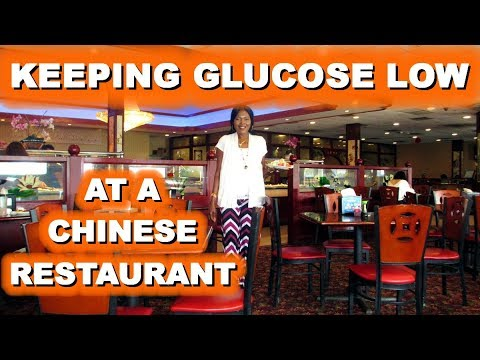 Keeping Glucose Low at a Chinese Restaurant