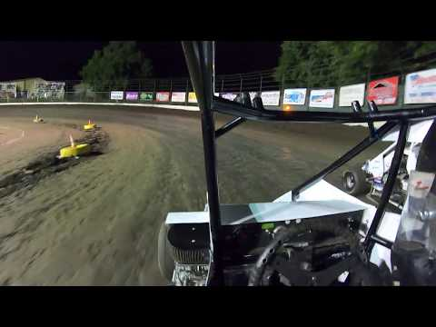 1st Night of Spring Fling Started: 1st Finished: 3rd out of 8. - dirt track racing video image