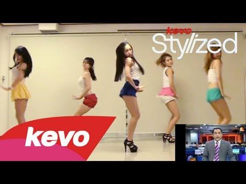 Orang Korea Joged Jeremy Teti bbm Campuran VS Gangnam Style