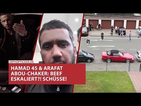 Hamad 45 & Arafat-Abou Chaker Beef eskaliert! Schüsse in Erkenschwick: Videos vom Tatort & Reaktion