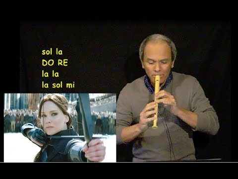 The Hunger Game - Hanging Tree (Facilissima con Spartito)