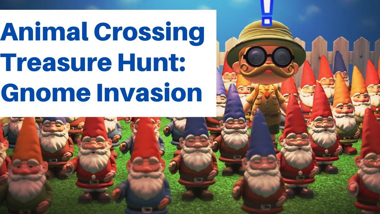 Animal Crossing New Horizons Treasure Hunt: Gnome Invasion ...