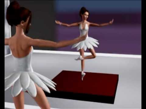 sims 3 ballet youtube. Black Bedroom Furniture Sets. Home Design Ideas