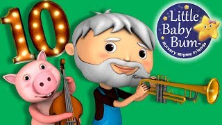 This Old Man He Played One | 3D Nursery Rhyme from LittleBabyBum in HD