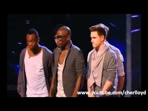 X Factor Live Show Week 1: The Results (Full Version) X Factor 2010 HQ/HD