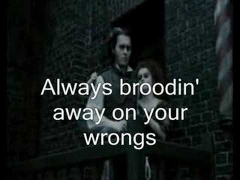 Sweeney Todd - Wait (sing-along+lyrics)