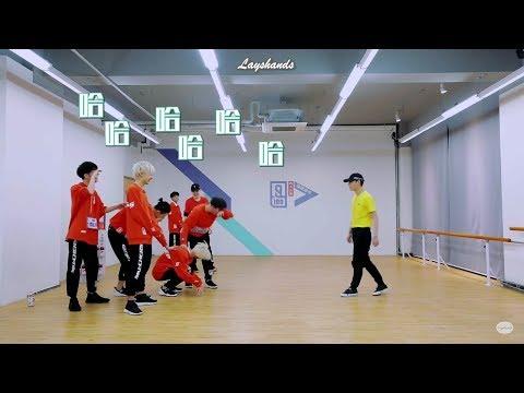 [Eng Sub] Yixing's Dancing Intimidates Trainees - 180401 Idol Producer Bts LAY