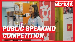 Kids & Teens Public Speaking Competition | eBright Setia City Mall