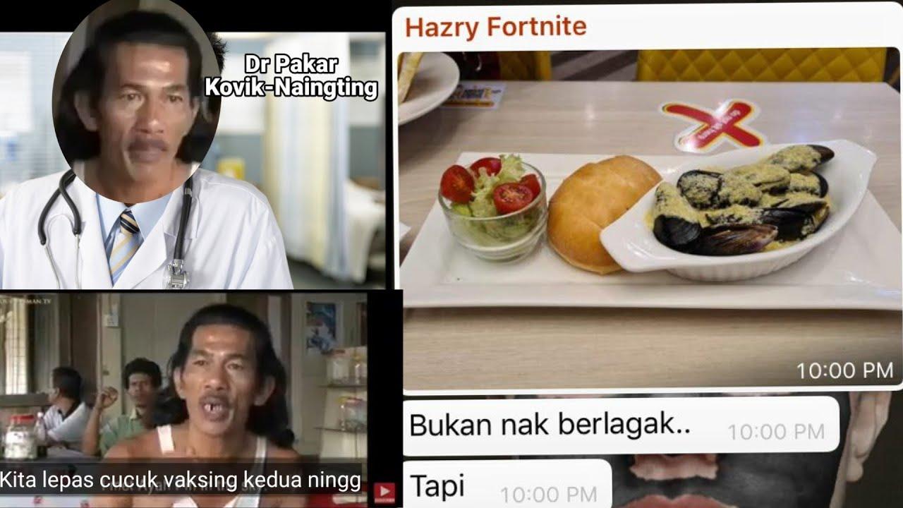 Member dapan Dine-in terus berlagak kat group whatsapp