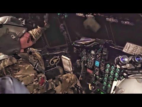 USAF Pararescue Training Aboard HC-130P Combat King