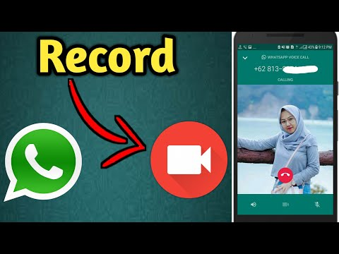 How To Record WhatsApp Video Call On Your Phone 2019