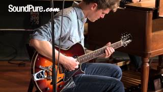 Comins GCS-1 Semi-Hollow Body Electric Guitars - Demo