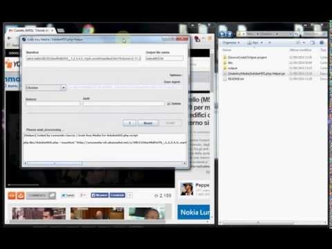 Grab Any Media 4 | AdobeHDS.php Helper