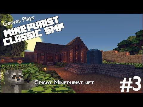 Minecraft Multiplayer: MinePurist - 3 - Water Fortress