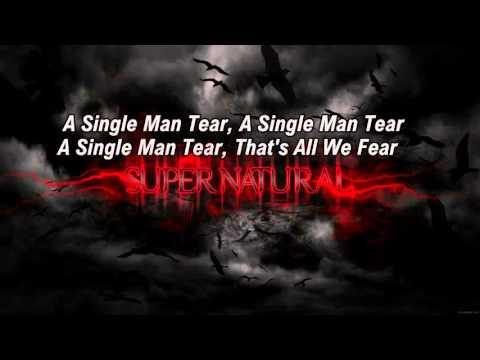 A Single Man Tear-Supernatural || Karaoke