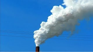 Coal-Fired Power Plant Smokestack, From YouTubeVideos