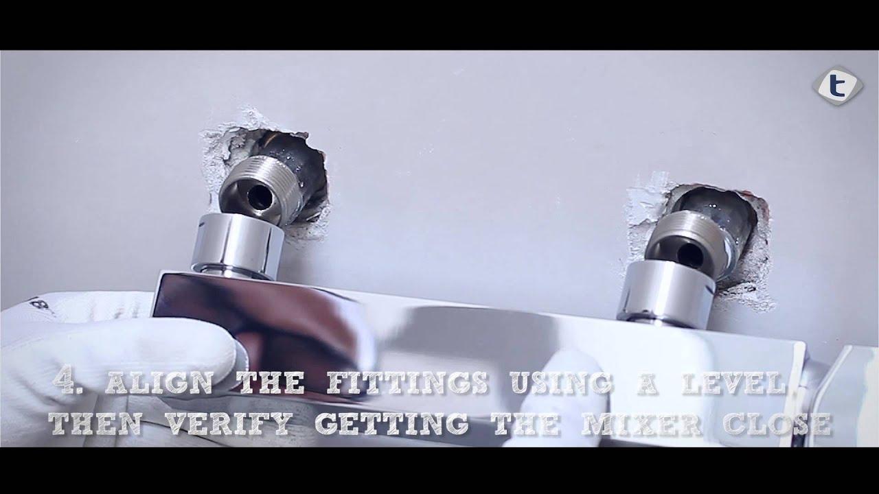 3 come montare un miscelatore doccia vasca teorema rubinetterie i consigli di beppe - Come sostituire una vasca da bagno ...