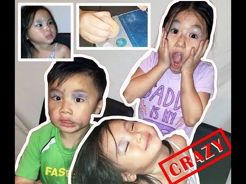 Kids' Makeup Tutorial | Challenge + Shoutouts thumbnail