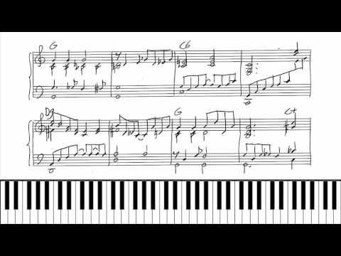 Stardust - Hoagy Carmichael - piano tutorial